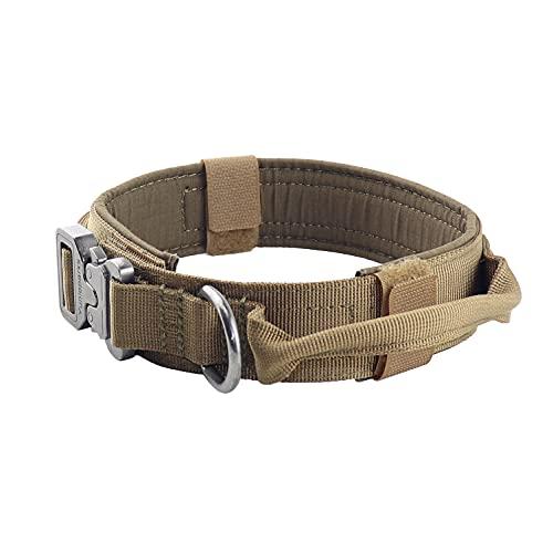 Yunlep Adjustable Tactical Dog Collar Military...