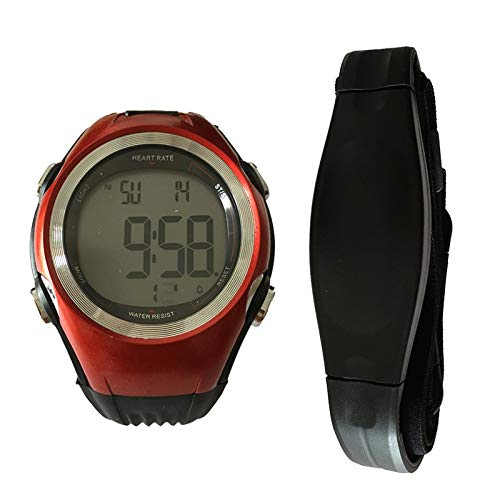 GUILIAN Reloj Monitor de ritmo cardíaco Hombres Deportes Polares Relojes Impermeable Inalámbrico Correr Ciclismo Correa de pecho Mujeres Deportes Reloj Pulsometro