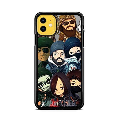 NETOBEEK [Rainbow Six Siege] Phone Case for iPhone 5/5S, Rainbow-Six-Siege-Logo,[NET9876-N2-1220],Handyhülle,Hülle,Coque,Custodia,Carcasa,Cover,Shell,Case