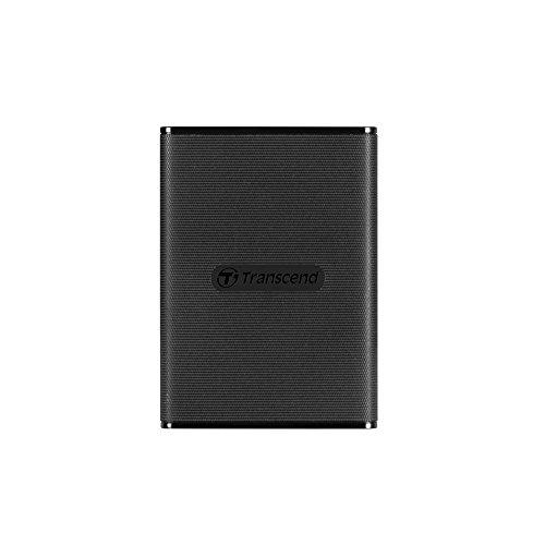 Transcend ESD230C - Disco Sólido Externo de 240 GB, USB 3.1 Gen 2 tipo C (Lectura hasta 520MB/s)