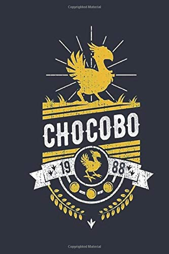 Chocobo: Wide Ruled Notebook, Journal for Writing, Size 6