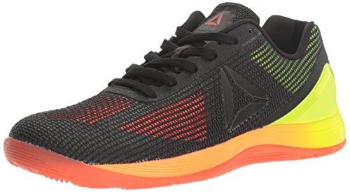 Reebok Women's Crossfit Nano 7.0 Cross-Trainer Shoe, Vitamin C/Solar Yellow/Black/Lead, 11 M US