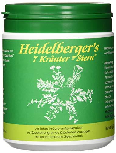 HEIDELBERGERS 7 Kräuter Stern Pulver 250 g Pulver