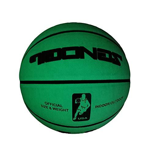 Best Price DUTUI Automatic Luminous Luminous Basketball, Light-Absorbing Fluorescent Wear-Resistant ...