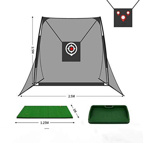 Lowest Price! LXP Golf Set, Golf Hitting Nets, for Outdoor Indoor Backyard,Professional Golfing Ac...