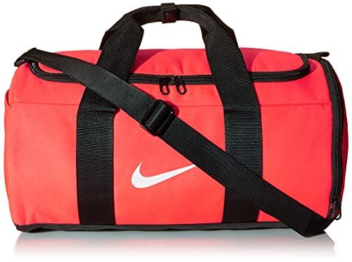 Nike Team Duffle Bag Unisex (Laser Crimson/Black) 27 L