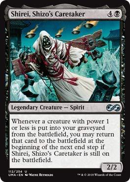 Magic: The Gathering - Shirei, Shizo's Caretaker - Ultimate Masters - Uncommon