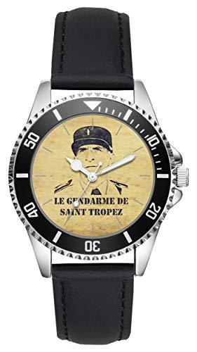 KIESENBERG Montre - Cadeau Louis de Funes Fantômas Balduin Gendarme Saint Tropez culte L-20080