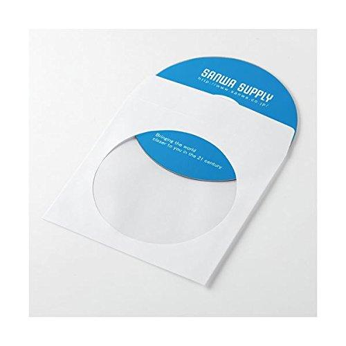 サンワサプライ DVD・CDペーパースリーブケース FCD-PS50WN【×10セット】