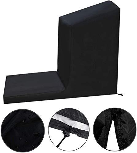 RZiioo Nicht klappbare Laufbandabdeckung - Staub- und wasserdichte Abdeckung für Sportlaufmaschinen, Schutzabdeckung für Fitnessgeräte,C