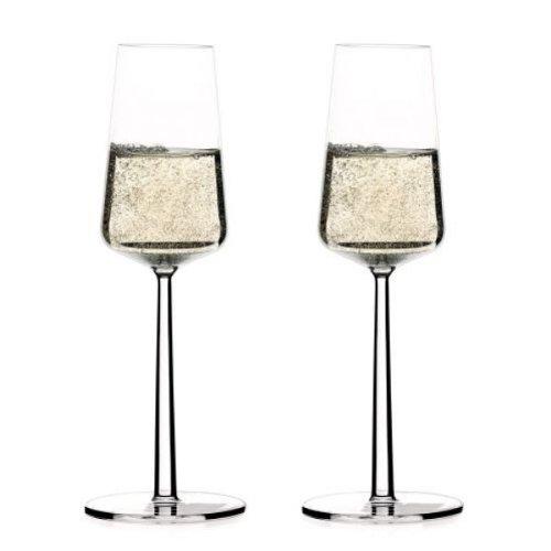 Iittala Essence Champagne Glasses 2 par paquet
