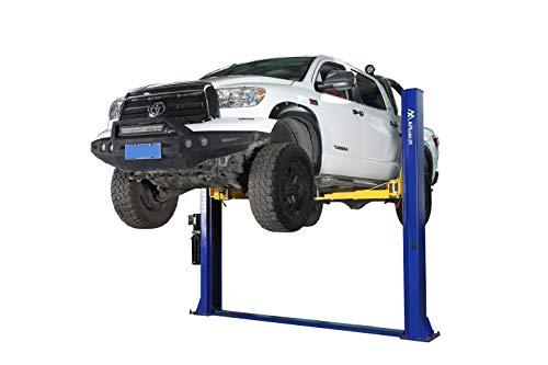 APlusLift HW-10KBP 10,000LB Two Post Floor Plate Auto Hoist Car Lift with Combo (Symmetric and Asymmetric) Arms / 24 Months Parts Warranty