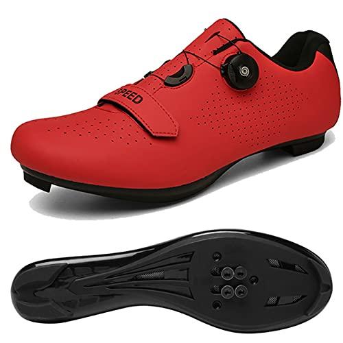 Calzado de ciclismo deportes al aire libre equipo para montar en bicicleta de carretera calzado de bicicleta con autobloqueo calzado profesional antideslizante calzado de bicicleta de carretera