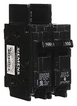 Siemens BQ2B100 100-Amp Double Pole 120/240-Volt 10KAIC Lug Out Breaker COLOR