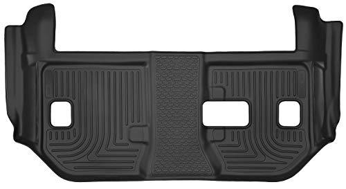 Husky Liners Passend für 2015–19 Cadillac Escalade ESV, 2015–19 Chevrolet Suburban, 2015–19 GMC Yukon XL – mit 2. Reihe Sitzbank X-act Contour 3. Sitz, Fußmatte, schwarz, 53291