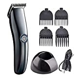 Hair Clipper for Men,MKLEKYY Kids Electric Hair Clipper,Electric Push Barber,Household Hairdressing Machine,Rechargeable Adjustable Home Clipper,Multifunctional Cordless Clippers Haircut (Black)