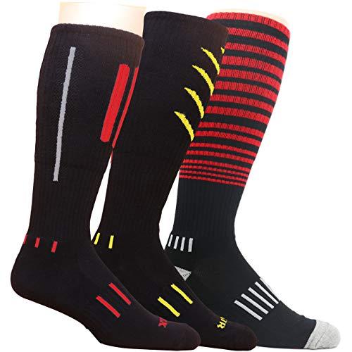 MOXY Socks Premium Deadlift Cushion Knee-High Fitness Socks 3-Pack