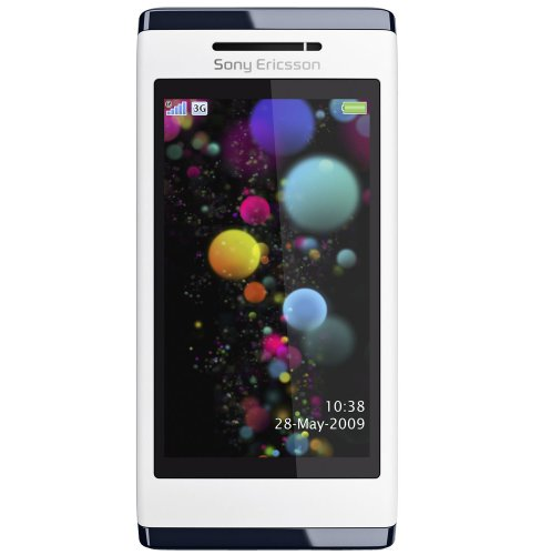 Sony Ericsson Aino Handy (UMTS, WiFi, 8 MP, Dockingstation, inkl. 8GB Speicherkarte) Luminous White