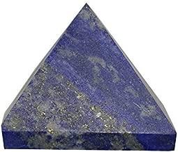 Lapis Lazuli Gemstone Pyramid (3/4