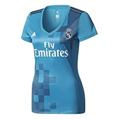 Adidas Camiseta Real Madrid 3ª Equipación 2017/2018 Mujer
