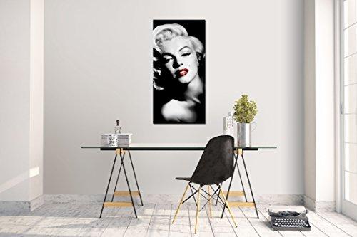 Wandtattoo Wandsticker Aufkleber Marilyn Monroe Grösse: 60 x 120 cm