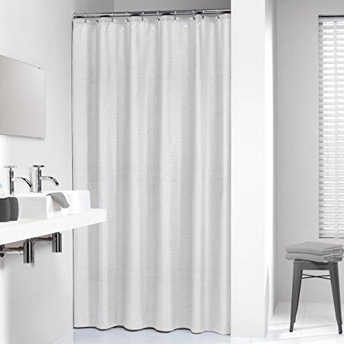 Sealskin Textil-Duschvorhang Relative, Farbe: Weiß, B x H: 180 x 200 cm