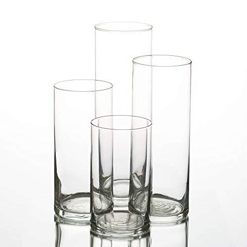 Eastland Glass Cylinder Vases Se...