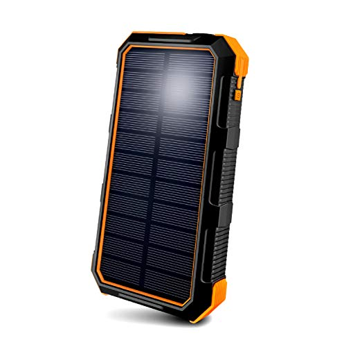 ToughTested BigFoot Portable Solar Charger with 4-Mode LED...