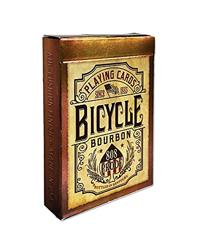 Bicycle Bourbon Playing Cards Brown…
