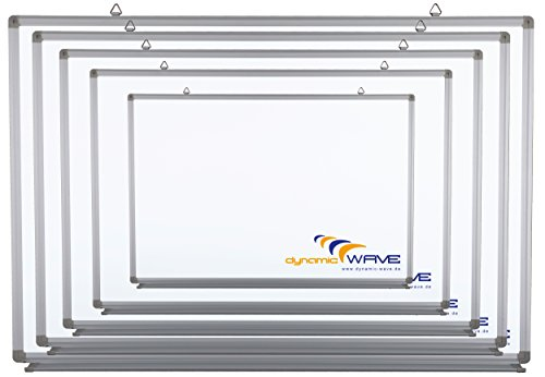 Whiteboard Magnettafel mit Alurahmen und durchgehender Stiftablage, in 9 Größen, schutzlackiert, magnethaftend, CLIP Funktion, mit Montagematerial, Größe:120x90 cm