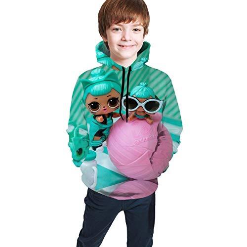 maichengxuan L-O-L. Surprise! Dolls Novelty Youth Hoodie Sweatshirts Fashion para Adolescentes