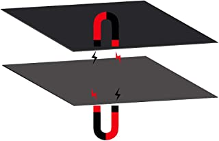 FYSETC 3D-Drucker magnetische Baufl/äche A Plate 200x200mm New Flex Magnet Bed Bauplatte f/ür Stahlfeder Oberfl/äche Blech f/ür Maker Select Plus V2 Prusa i3 Vinci 1.0 Tarantula I3 Ultimate Drucker,