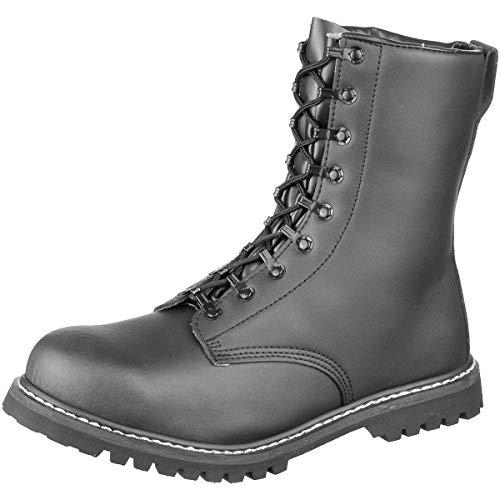 Brandit Springerstiefel para Boots, Schwarz, 44 EU,