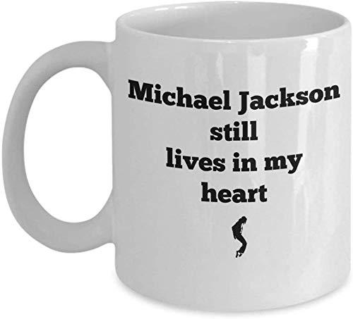 PAWANG Michael Jackson Kaffeetasse Michael Jackson Lebt Noch In Meinem Herzen Michael Jackson Fan.