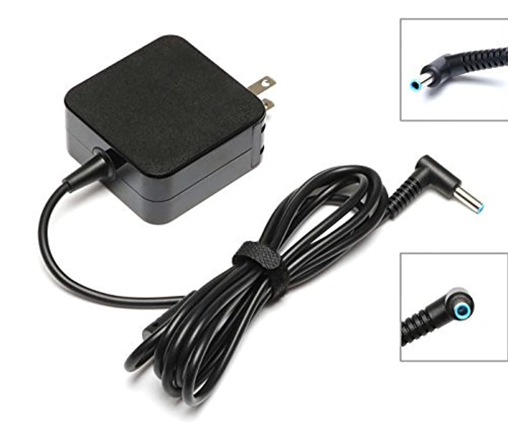 19.5V 2.31A 45W Replacement Ac Power Supply Cord Laptop Adapter Charger for Hp Stream 11 13 14,HP Spectre X360 13-4001DX L0Q55UA,13-4002DX L0Q56UA,13-4003DX L0Q51UA,13-4005DX L0Q52UA