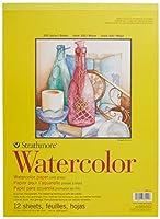 "Strathmore Watercolor Cold Press Paper Pad 11""X15""-12 Sheets (並行輸入品)"