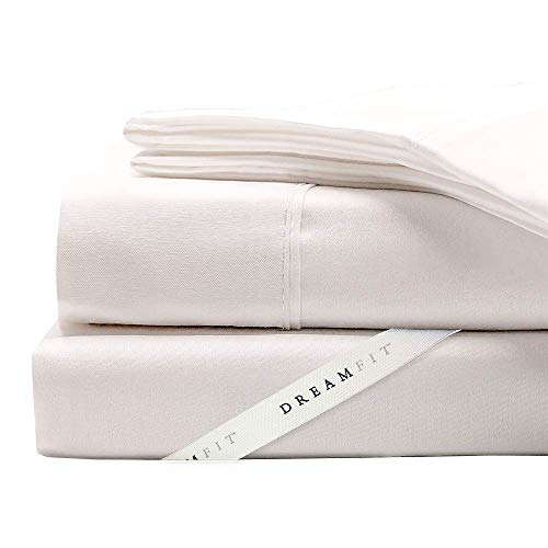 DreamFit Degree 5 Bamboo Queen Sheet Set, White