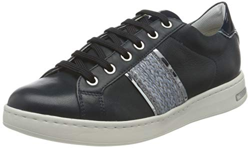 Geox D Jaysen C, Zapatillas Mujer, Azul Marino, 42 EU