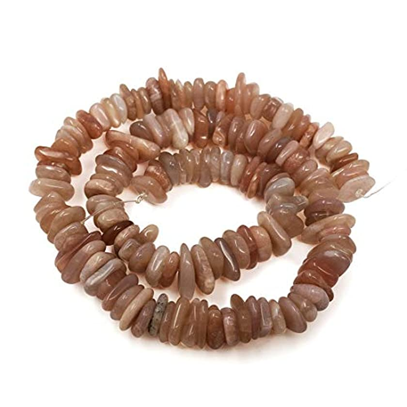 Top Quality Natural Sunstone Gemstone ~7-12mmmm Center Drilled Rondelle Stone Beads 16