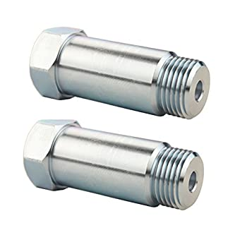 JGR 1 Pair Straight 18mm Thread Pitch 1.5 Fitting Bungs