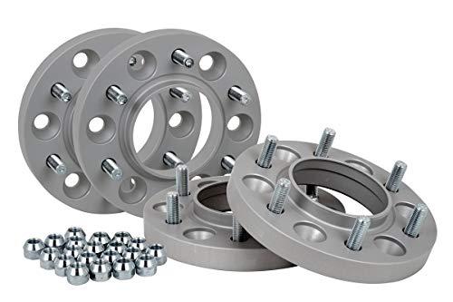 Spurverbreiterung Aluminium 4 Stück (20 mm pro Scheibe / 40 mm pro Achse) inkl. TÜV-Teilegutachten~
