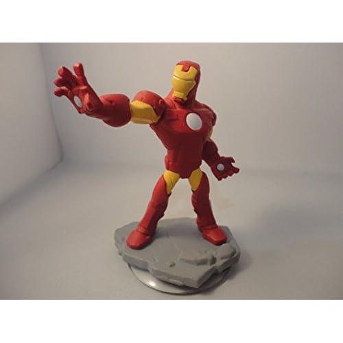 Disney INFINITY: Marvel Super Heroes (2.0 Edition) Iron Man Figure - No Retail Packaging by Disney Interactive Studios