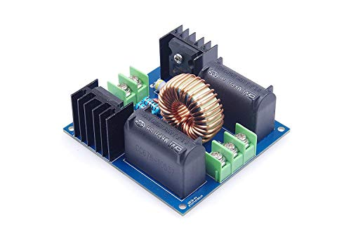 DollaTek Placa de Controlador ZVS Circuito de calefacción por inducción ZVS DC12-30V Interruptor de Voltaje Cero Placa de alimentación de la Fuente de alimentación