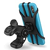 Bike Phone Mount, Gobeigo Anti-Shake Phone Holder for Bike, 360° Rotation Cell Phone Mount for Handlebar/Stem of Road or Mountain Bicycle & Motorcycle, Compatible with iPhone 12 Pro Max,Samsung
