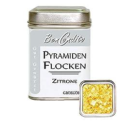 Pyramidenflocken mit Zitrone - Pyramidensalz