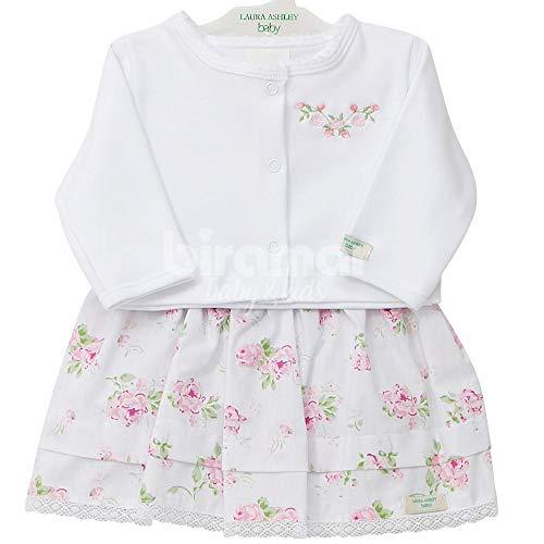 Vestido c/Bolero para Bebê Josephine Rosa, Biramar Baby, Rosa