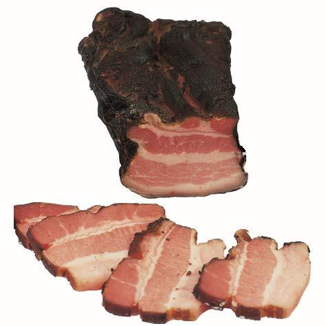 Food-United Brotzeitrankerl schwarzgeräuchert 1200g aus mageren Schweinebäuchen nach traditionellem Rezept mit natürlichen Kräutern verfeinert Top-Qualität
