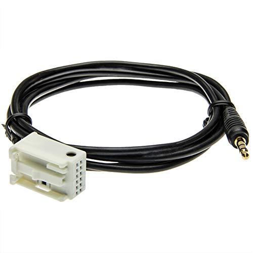 AUX IN Adapter Kabel Quadlock 3,5 mm Klinken Stecker Auto Radio 12pol für RD4 N1