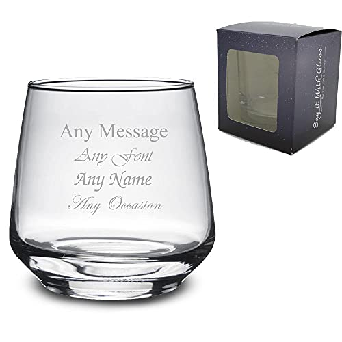 Personalised Engraved Tallo Whiskey Glass