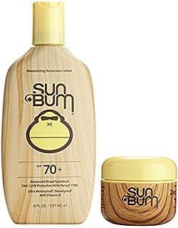 Sun Bum SPF 70 8oz Lotion + Clear Zinc Oxide